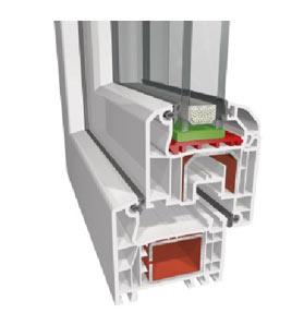 PVC дограма от LineaPlast, тип Право крило