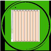 Вътрешни щори за всички видове PVC и алуминиева дограма