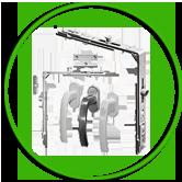 Обков за различни видове алуминиеви и PVC дограми